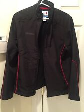 HBC Official Outfitter WHISTLER Ladies Black Large Olympic Jacket Zip Up