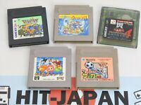 Lot of 5 Game Boy and Color Cartridge Only Ref 2337 Nintendo JAPAN Game gb