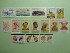 LOT 5356 TIMBRES STAMP POSTE AERIENNE DIVERS ANGOLA ANNEE 1953-1981