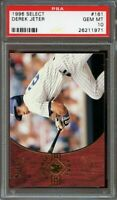 1996 select #161 DEREK JETER new york yankees yankees rookie card PSA 10
