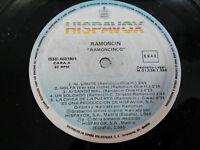 """RAMONCIN RAMONCINCO HISPAVOX 1986 LP VINILO VINYL 12"""" G+ SIN PORTADA"""