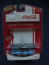 Johnny Lighting Coke Gripclip refreshing rides #6 1970 Plymouth GTX #53302D 2007