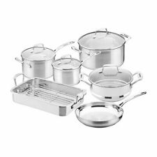 NEW Scanpan Impact 6pc Cookware Set w/ Roaster (RRP $779)