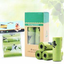 120/45 PCs Eco-Friendly Biodegradable Dog Waste Poop Bags Home Kitchen Trash Bag