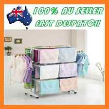 Fordable 6 Tiers Indoor Clothes Airer Horse Laundry Drying Rack Garment Hangers