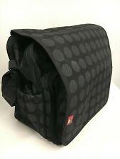 RYCO Stella Messenger BABY CHANGING DIAPER Nursery Bag Pre Owned VGC Black Spot