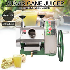 Samger Sugar Manual Cane Press Juicer Machine Commercial Extractor Mill 50kg/h
