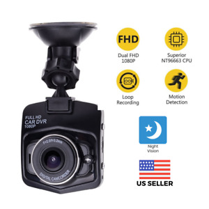 2.4'' Full HD 1080P Dash Cam Car DVR Front or Rear Camera Night Vision G-sensor