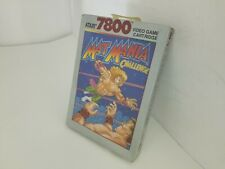 NEW SEALED MAT MANIA CHALLENGE GAME FOR ATARI 7800 PAL VER (NOT FOR USA) V15
