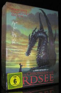 DVD-BOX-SET DIE CHRONIKEN VON ERDSEE - LIMITED COLLECTORS EDITION STUDIO GHIBLI