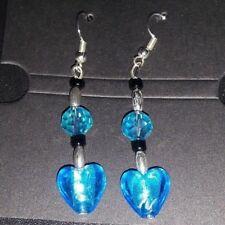 Handmade Drop Earrings With SP Hook Wire