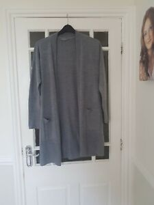 Lovely Long Grey Cardigan - Principles - Size: 12 - Brand New Without Tags