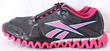 Reebok JB7445 Zig Nano Pink/Blue/Black Sparkle Mesh Athletic Sneakers Men's US 7