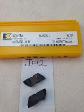 5 NEW KENNAMETAL NG3M225LK CARBIDE INSERTS. NG 3088LK TOP NOTCH GR: KC730 {J192}