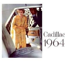 1964 Cadillac Sales Brochure Literature Dealer Advertisement Features Options