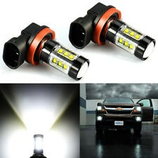 JDM ASTAR 2x Xenon White H11 1200LM Fog Driving Light Bulbs High Power LED DRL