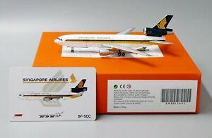 JC Wings 1:400 Singapore Airlines McDonnell Douglas DC-10 9V-SDC Diecast Model