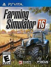 Farming Simulator 16 RE-SEALED Sony PlayStation Vita GAME 2K16 2016