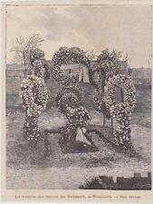 1892  --  LA TOME DU BARON DE REINACH A NIVILLERS   3B212