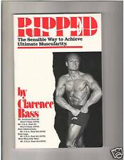 Ripped Bodybuilding Diet Workout Exercise Muscle Book by Clarence Bass