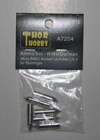 THOR HOBBY 1/72 A7204 Metal Ammo 38cm RW61 Sturmtiger