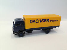 Vintage -Dachser- Spedition German Ho Toy Truck Car Mercedes Benz