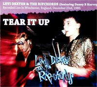 LEVI DEXTER & THE RIPCHORDS Tear It Up CD - Danny B Harvey - Rockabilly - NEW