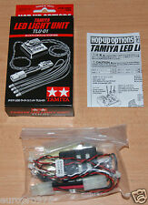 Tamiya 53909 unidad de luz LED (TLU-01) (TT01/TT01D/TT01E/TT02), Nuevo En Caja
