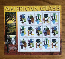 US - 1998 AMERICAN GLASS #3325-3328 full sheet - MNH