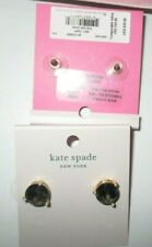 KATE SPADE NEW YORK Rise And Shine BLACK OPAQUE Cubic Zirconia Stud Earrings