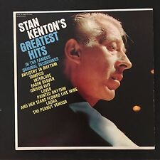 Stan Kenton's Greatest Hits 1958 Vinyl LP Record Jazz Big Band