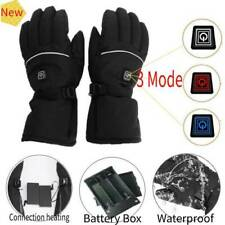 Waterproof Electric Heated Gloves Rechargeable Battery Warm Glove Sport Outdoor