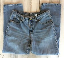 CRUEL GIRL RELAXED DENIM JEANS LADIES 13 SHORT ROCKY MOUNTAIN CLOTHING CO