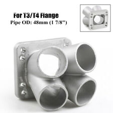 1Pcs Cast Stainless Steel 304 4-1 Turbo Header Manifold Merge Collecttor T3 T4