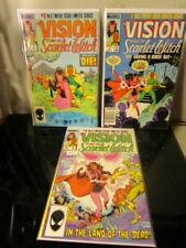 VISION AND THE SCARLET WITCH Marvel 3-5 lotbagged boarded~