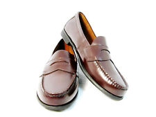 Eastland Men's Shoes Brown Leather Penny Loafer Slip On Size 12M