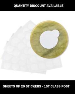 Jade Stone Glue Sticker Cover Eyelash Extension Tray Pallet Adhesive Sticker