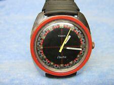 """Men's Vintage 1971 TIMEX """"Electric"""" Waterproof Watch w/ New Battery"""