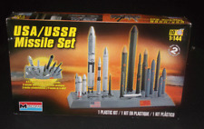 Monogram Model Kit USA / USSR Missile Set 1:144 Scale Kit# 85-7860