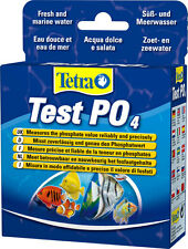 Tetra AQUARIUM Test PO4* Measures the phosphate value reliably and precisely