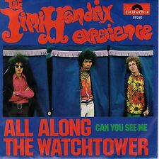 7inch THE JIMI HENDRIX EXPERIENCE all along the watchtower GERMAN EX+