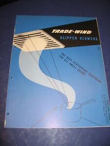 1952 Trade-Wind Fan Catalog retro Kitchen Bath planning vintage Home Design
