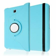 """PU LEATHER ROTATING STAND CASE COVER SLEEP/WAKE FOR SAMSUNG GALAXY TAB 4 8.0"""""""