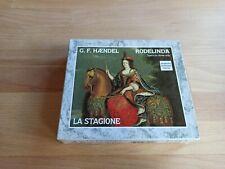 Händel Rodelinda La Stagione - Musik CD Album Box