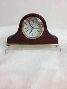Howard Miller Model No. 613489 Palmer Mantel/Mantle/Shelf Clock - Windsor Cherry
