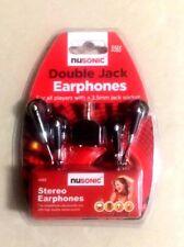 Auriculares Jack doble para todos los jugadores con un zócalo de 3.5 mm Jack de auriculares estéreo