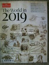 The Economist Magazine World in 2020 Trump Brexit AI Tokyo Mars Climate &