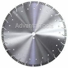"20"" Diamond Saw Blade for Asphalt Concrete Brick Block Pavers Stone - 12MM"