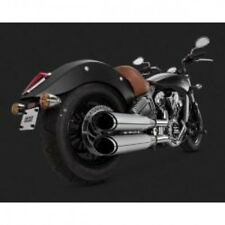 Twin slash cut slip-ons mufflers - Vance & hines 18621
