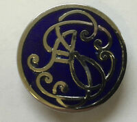 Vintage School Secretaries Association Enamel Pin Badge Fattorini Union Teacher